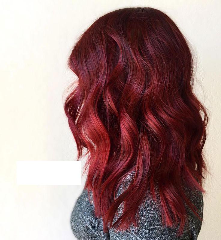 abbastanza colore capelli rosso rubino | Pazza Idea Parrucchieri  YD24