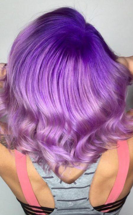 Colore Capelli Viola – Il Colore Dell'Anno Per Il 2018  Pazza Idea Parrucchieri - Parrucchiere ...