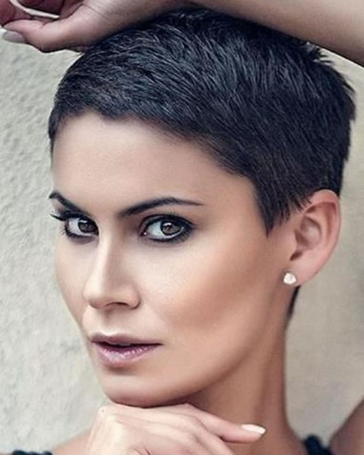 Super Very Short Pixie Haircuts & Short Hair Colors 2018-2019