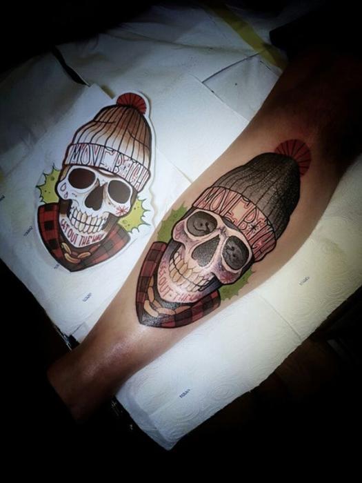 New_School_tatuaggi